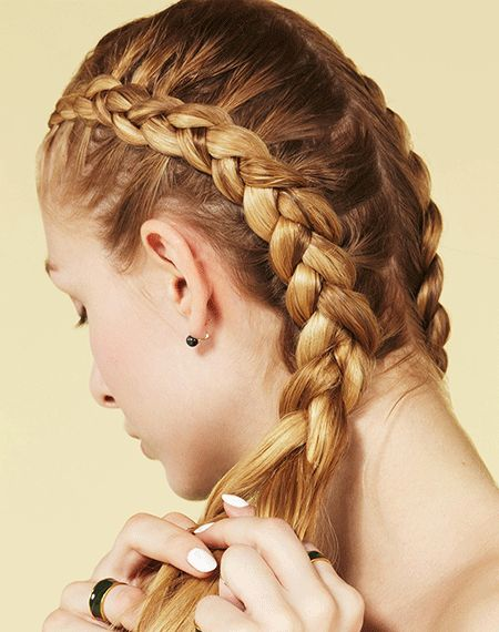 5 Braids You HAVEN'T Seen Yet #refinery29  http://www.refinery29.com/five-different-braided-hairstyles
