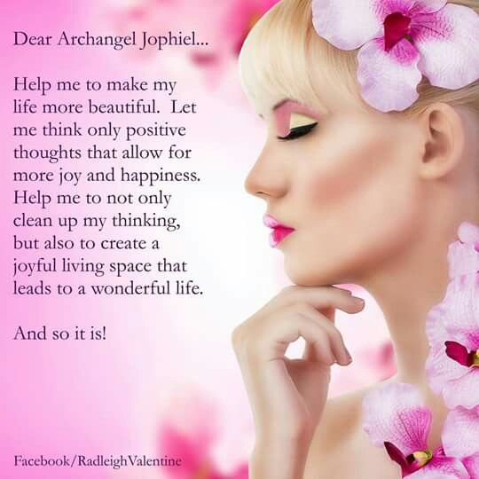 Dear Archangel Jophiel...