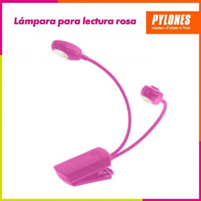Lámpara de lectura rosa #Hogar #Casa #Color