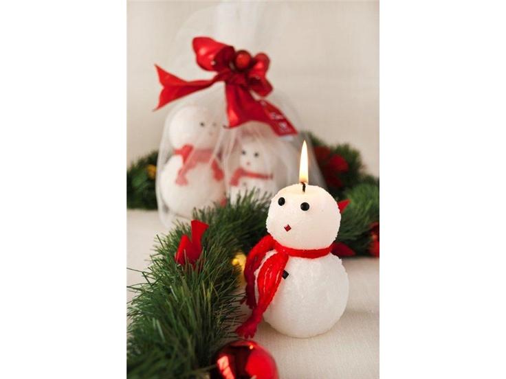 Snowmen Candles - Kardanadam Mum