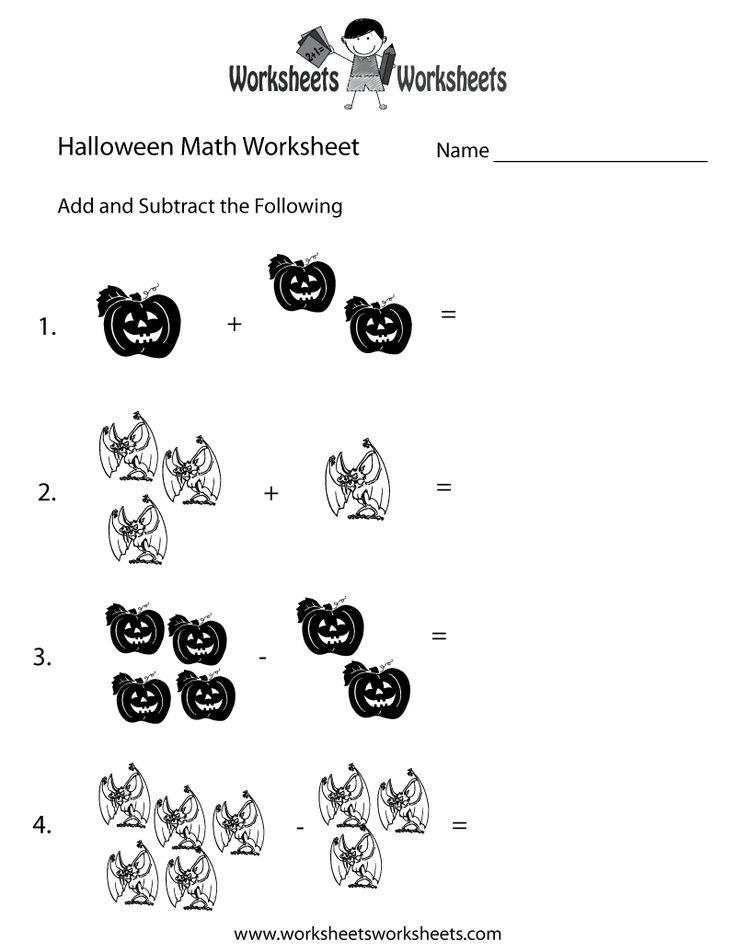 Halloween Math Activities | Halloween Math Worksheets
