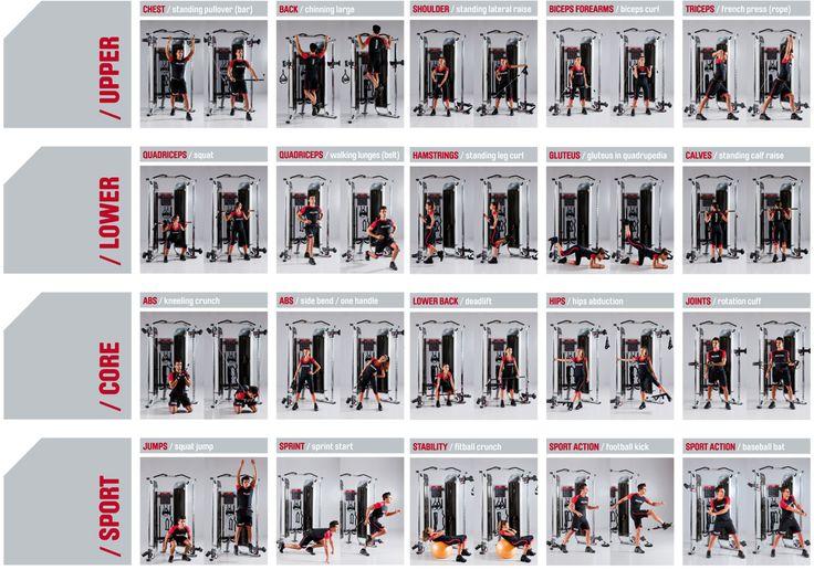 Marcy Smith Machine Exercise Chart