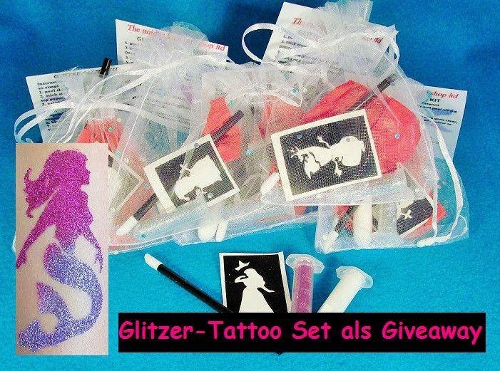 Giveaway+Kindergeburtstag+Glitzer-Tattoo+Set+von+sweet-little-monsters+auf+DaWanda.com
