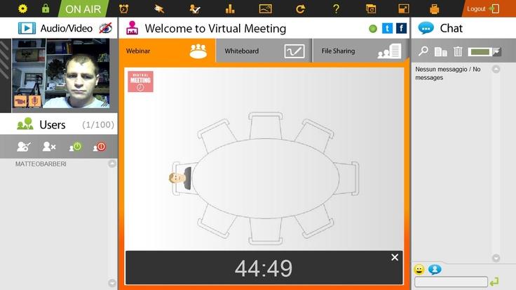 La funzione Countdown ti permette di informare tutti i partecipanti sulla durata dell'incontro
