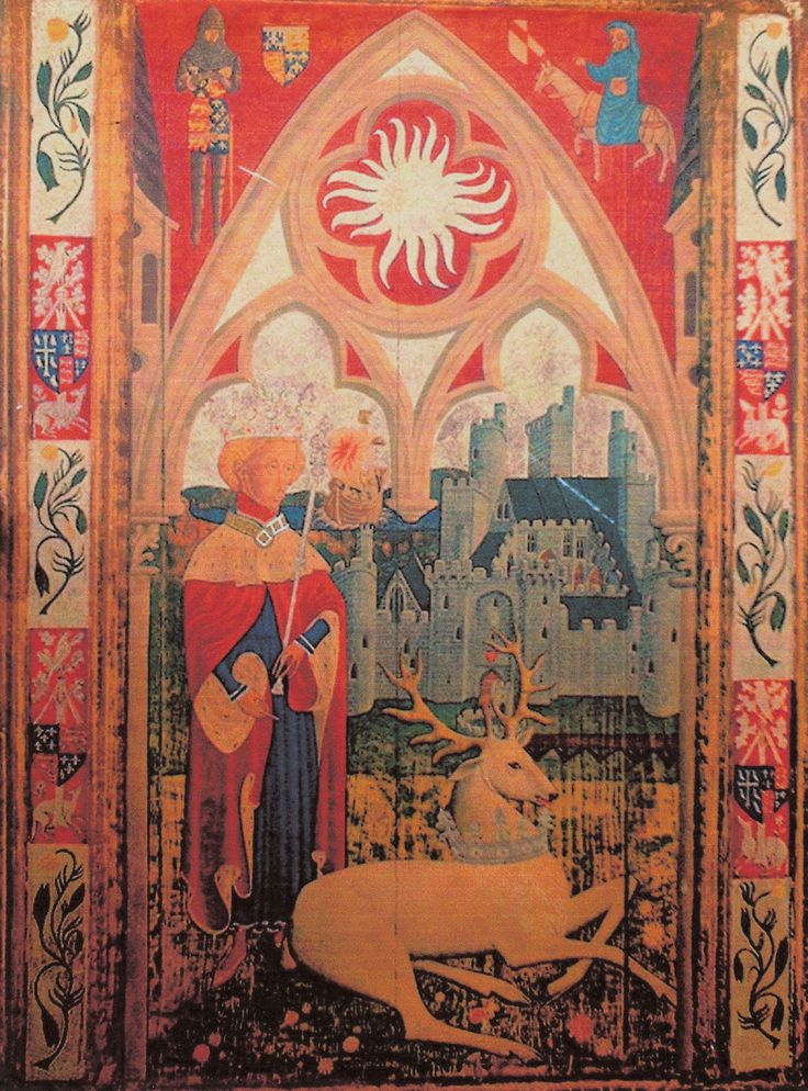 This illustration depicts Richard II - does anyone recognise the artist, or where it comes from - or anything at all about it??