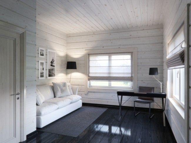 HappyModern.RU | Деревянные дома из профилированного бруса:  проекты, преимущества и особенности строительства | http://happymodern.ru