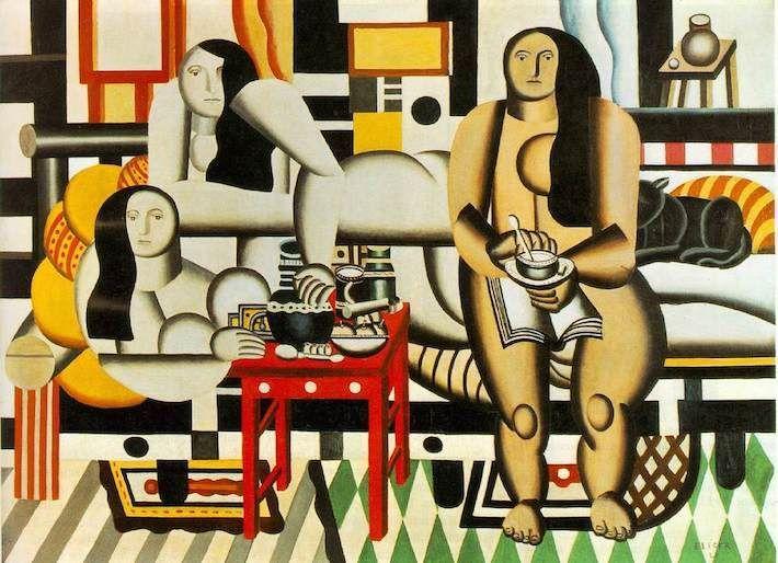 Фернан Леже «Три женщины (Большой завтрак)», 1921
