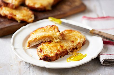 With this easy-to-follow recipe, you'll be enjoying classic cheese on toast in no time at all. Add a dash of English mustard for an extra kick.