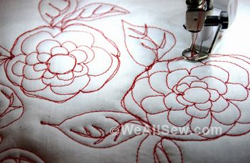 Great tips on #freemotionquilting with your #bernina750 WeAllSew « http://weallsew.com