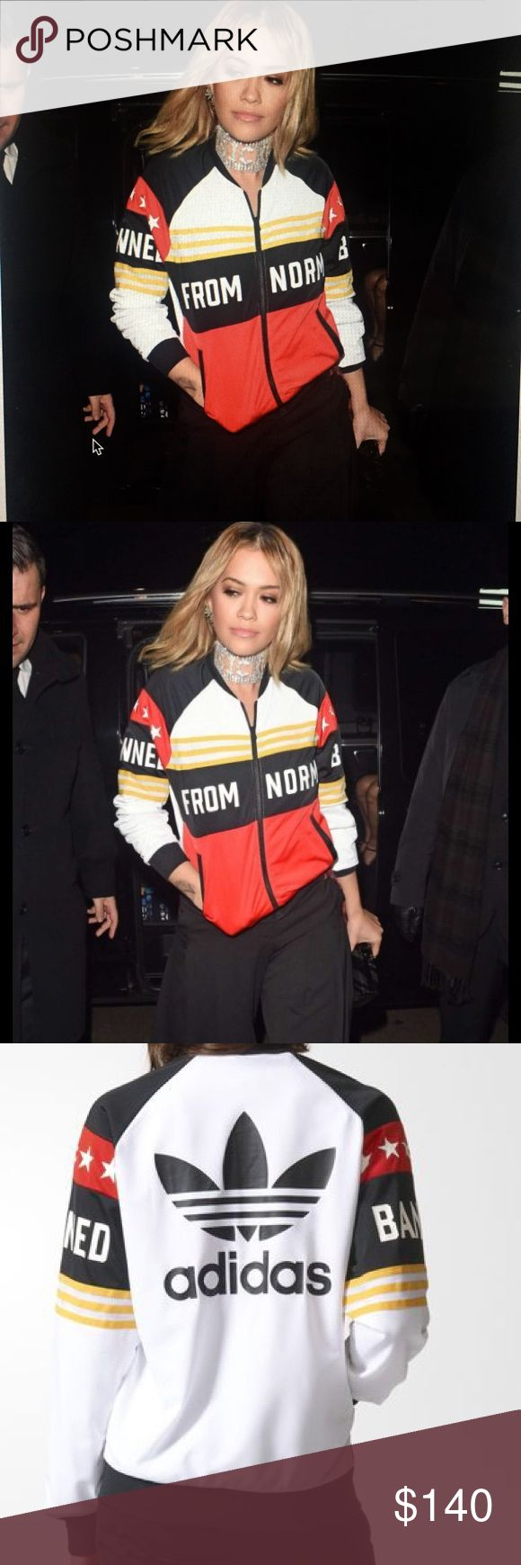 Adidas by Rita Ora Brand new never been worn . No low ball offers please ! Adidas Tops Sweatshirts & Hoodies