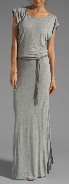 Comfy maxi dress--I love a maxi skirt/dress