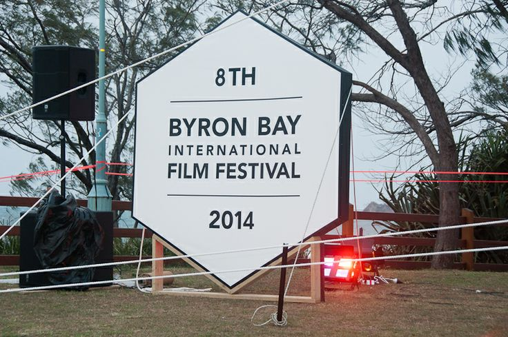 #byronbayfilmfestival Outdoor Full Moon Cinema, Friday 14 February 2014, Valentine's Day.  Photo Credit: Hielrick Georges Dajon - Photogem