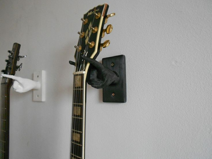 Guitar hanger / hook in the shape of a hand by TBS.