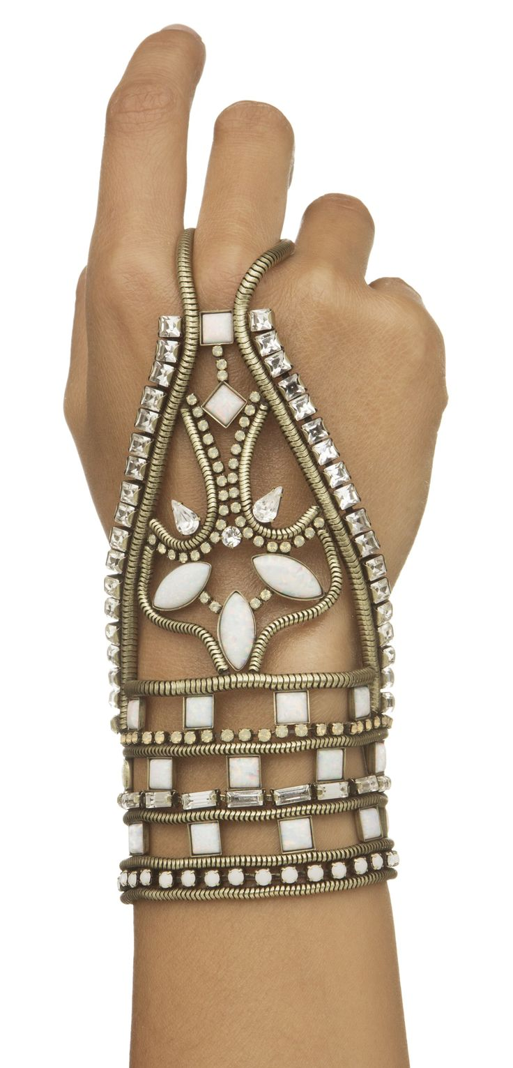 Armor hand chain