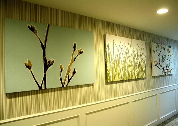 I love the artwork at the Sandman Inn and Suites in Kamloops.