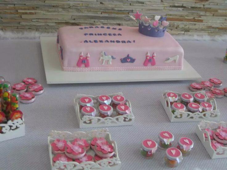 #cake #princess #crown # decorating ideas