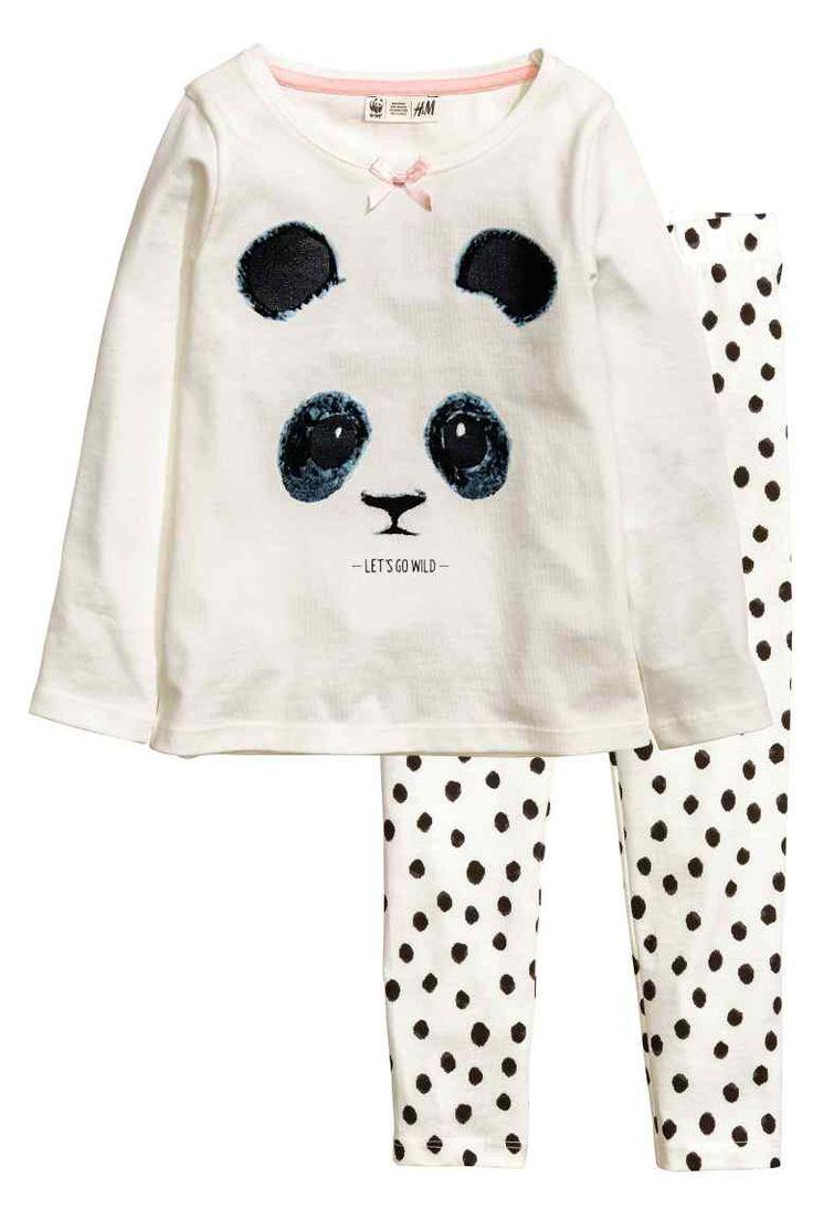 Dżersejowa piżama   H&M