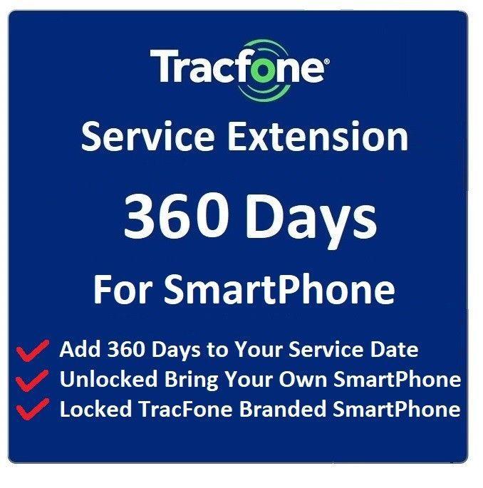 Tracfone Service Extension 1 Year 365 Days For Phones On Smartphone Plans International Sim Card Travel Sim Card Verizon Prepaid