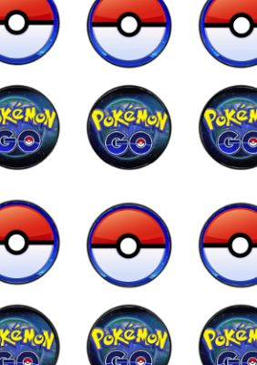 FREE Pokemon Go Birthday Party bingo, cupcake toppers, banner printable files