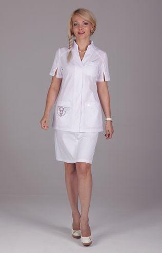 Блуза медицинская женская «Кадуцей»