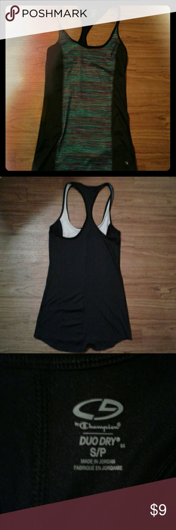 Champion Duo Dry Tank size S Work out champion duo-dry tank top, no stains, no holes or rips. Champion Tops Tank Tops