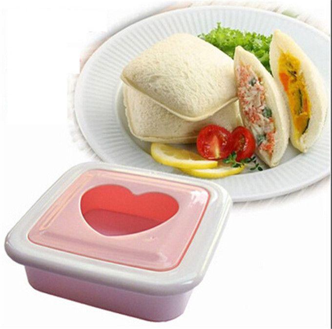 Формы DIY карман сэндвич формы в форме сердца - в форме формы хлебопечка любовь тостер Onigiri бенто die 9.3 * 9.3 см 55 г H-105