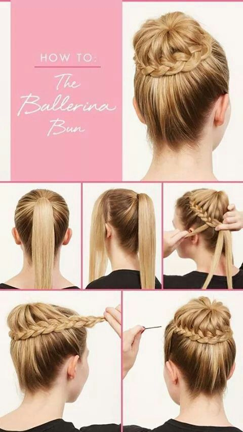 Go beyond the traditional ballerina bun for your students with these amazing tutorials:
