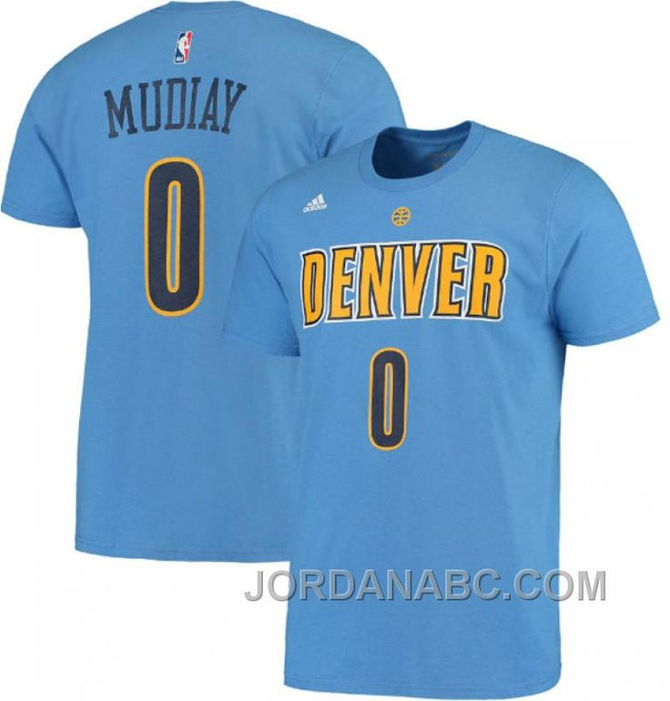 http://www.jordanabc.com/denver-nuggets-0-emmanuel-mudiay-name-number-tshirt-blue.html DENVER NUGGETS #0 EMMANUEL MUDIAY NAME & NUMBER T-SHIRT BLUE Only $50.00 , Free Shipping!