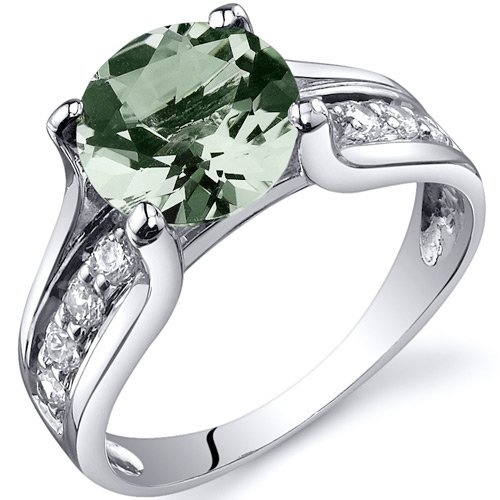 Majestic Sensation 1.25 Carats Peridot Ring in Sterling Silver Sizes J to S 0nv5fKtAi