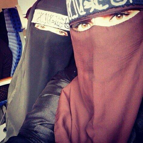 Sisters #Beauty's #Niqab