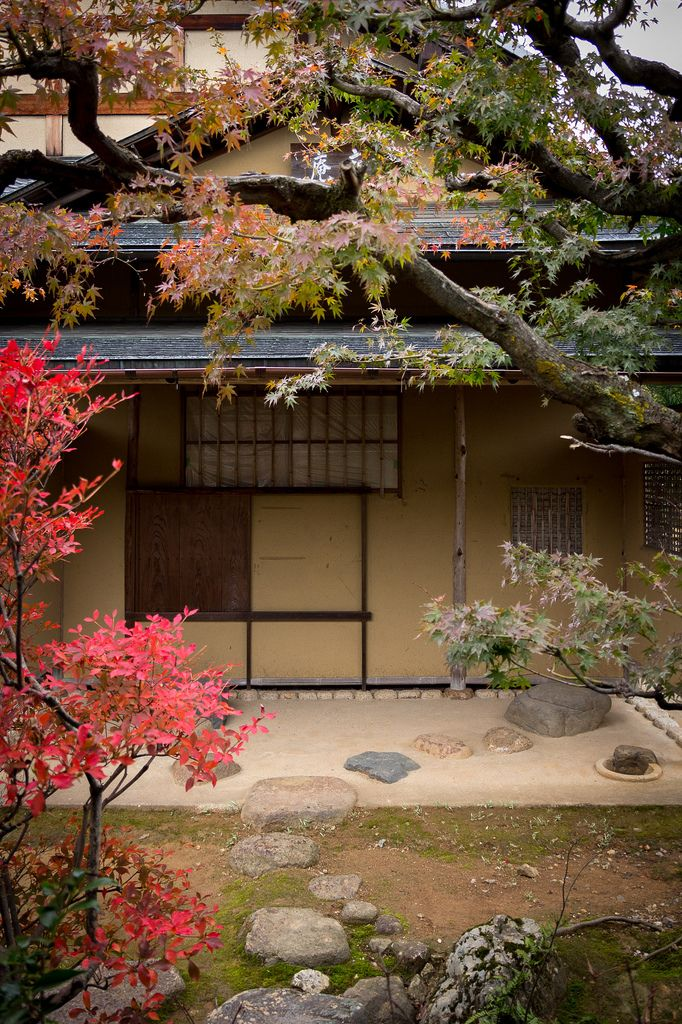 Sokenin, subtemple of Daitokuji, Kyoto, Japan 茶室
