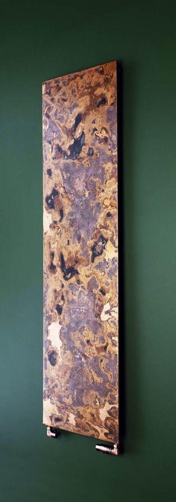 Etched copper radiator http://www.radiators.co.uk/bisque-arteplano-single-k1-radiator-453mm-x-1213mm-etched-copper-2829-btu.html