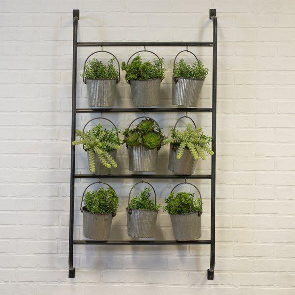 Wotring Metal Vertical Garden Metal Wall Planters Vertical Garden Wall Planter