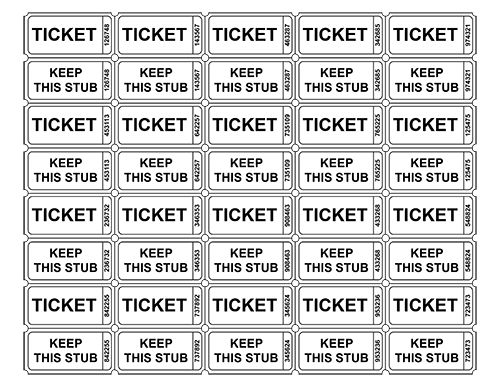 Best 25+ Free raffle ticket template ideas on Pinterest Ticket - ball ticket template