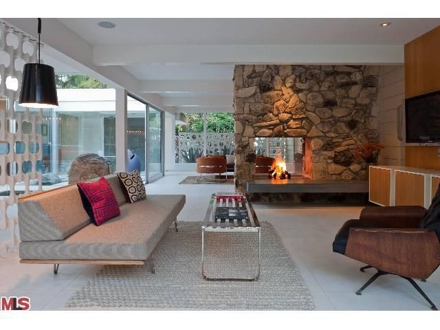 67 best Interior: Mid-Century Fireplaces images on Pinterest ...