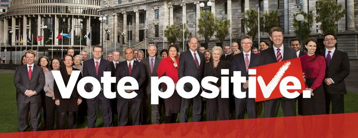 New Zealand Labour - Vote Positive