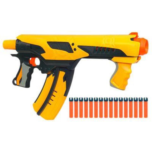 NERF Toys & Accessories: NERF DART TAG Quick 16 Blaster