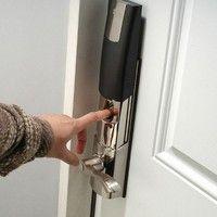 Finger print door lock!