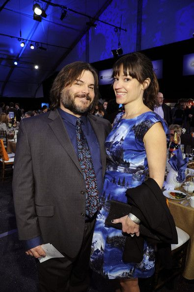 Actor Jack Black and musician Tanya Haden attend the 2013 Film Independent Spirit Awards at Santa Monica Beach on February 23, 2013 in Santa Monica, California.