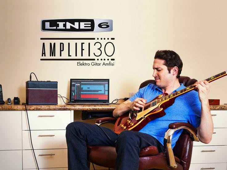 Ödüllü tasarım Türkiye'de, dünya kadar ton ufacık bir amfide!  Line6 Amplifi 30 ⚡ www.1enstruman.com/line-6-amplifi-30-elektro-gitar-amfisi