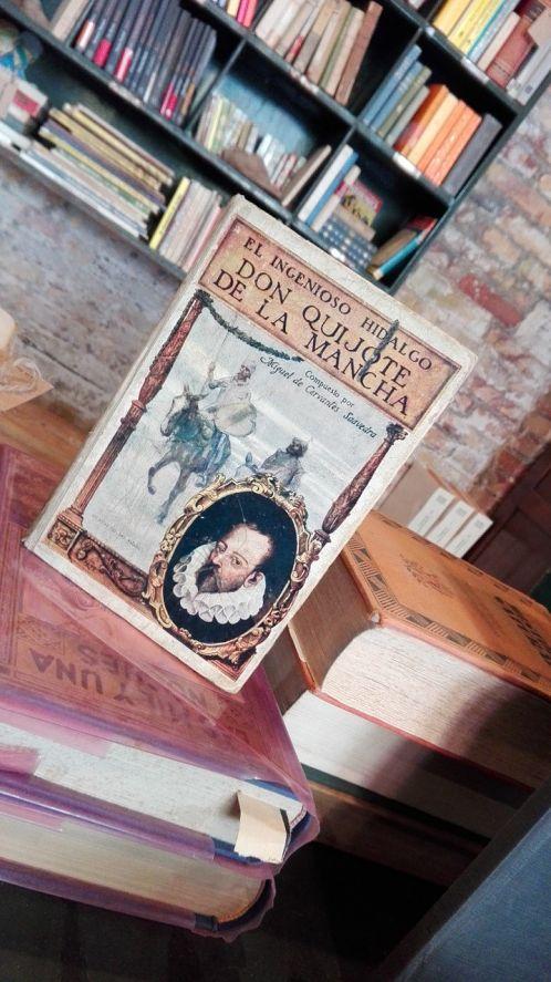 El Quijote,  libreria la sabateria en Lleida, libros, libros de segunda mano, llibreria Lleida