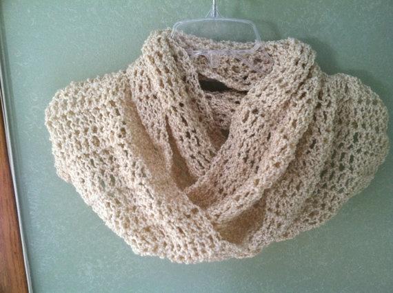 Infinity Scarf - pretty crochet pattern