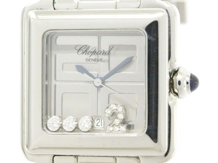 Polished #CHOPARD Happy Sport 2000 LTD Edition Diamond Watch 27/8888-23 (BF108584): All of #eLADY's items are inspected carefully by expert authenticators who have years of experience. For more pre-owned luxury brand items, visit http://global.elady.com