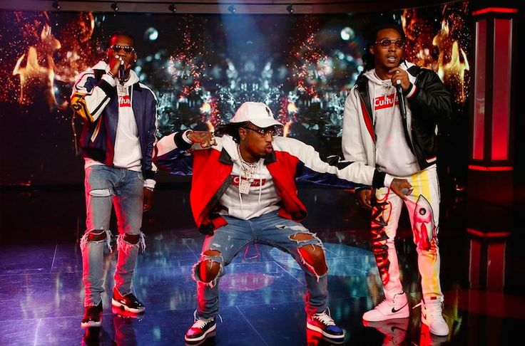 """The Migos swung through Jimmy Kimmel Live on Tuesday night to perform the song of the moment, their smash CULTURE single """"Bad And Boujee"""", which is still not a better song than either """"T-Shirt"""" or """"Call Casting"""". Watch below and look for the new album to arrive next Friday, January 27th."""