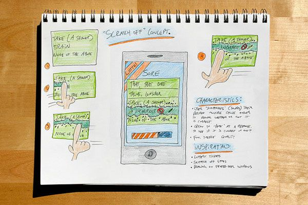 Web and Mobile Wireframe Sketches (11)