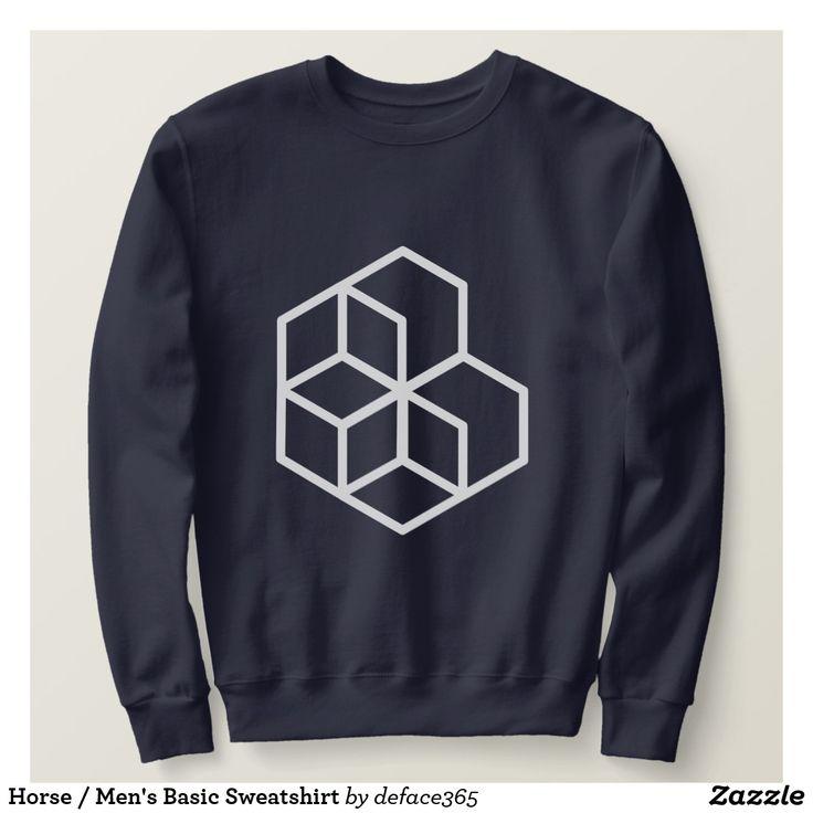 Horse / Men's Basic Sweatshirt