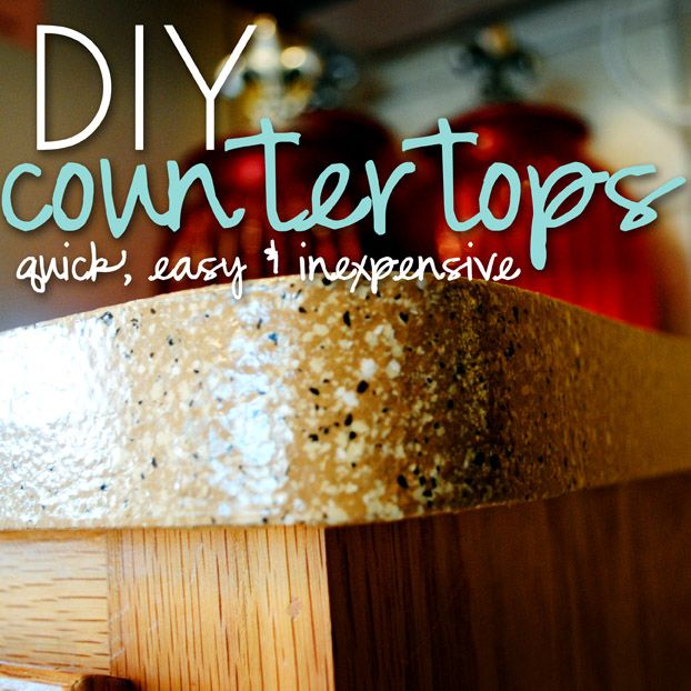 diy kitchen countertops - Cheap Kitchen Countertop Ideas