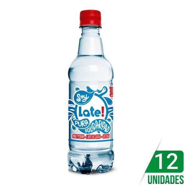 Agua Late 500cc Sin Gas Water Bottle Bottle Drinks