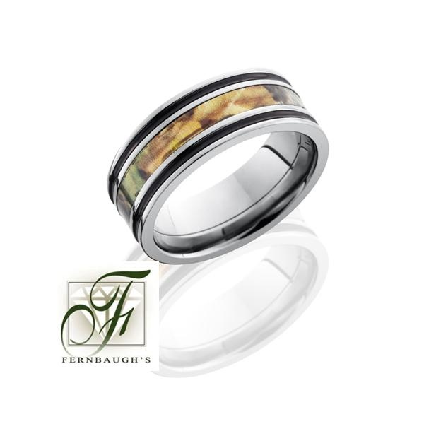 brown camo mens wedding band camo wedding ringsmen - Camo Wedding Rings For Men