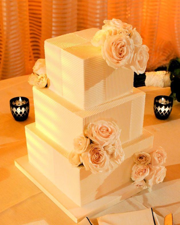 Photographer: Yvette Roman Photography; To see more gorgeous cake ideas: http://www.modwedding.com/2014/11/24/ravishing-wedding-cake-inspiration-romantic-details/ #wedding #weddings #wedding_cake